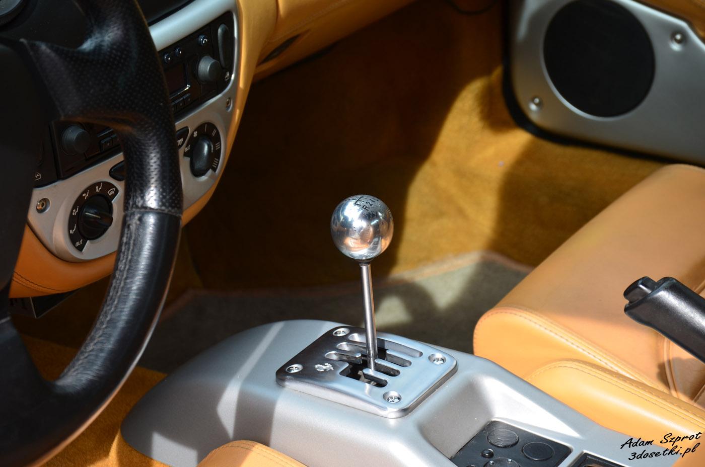 Wnętrze Ferrari 360 Modena
