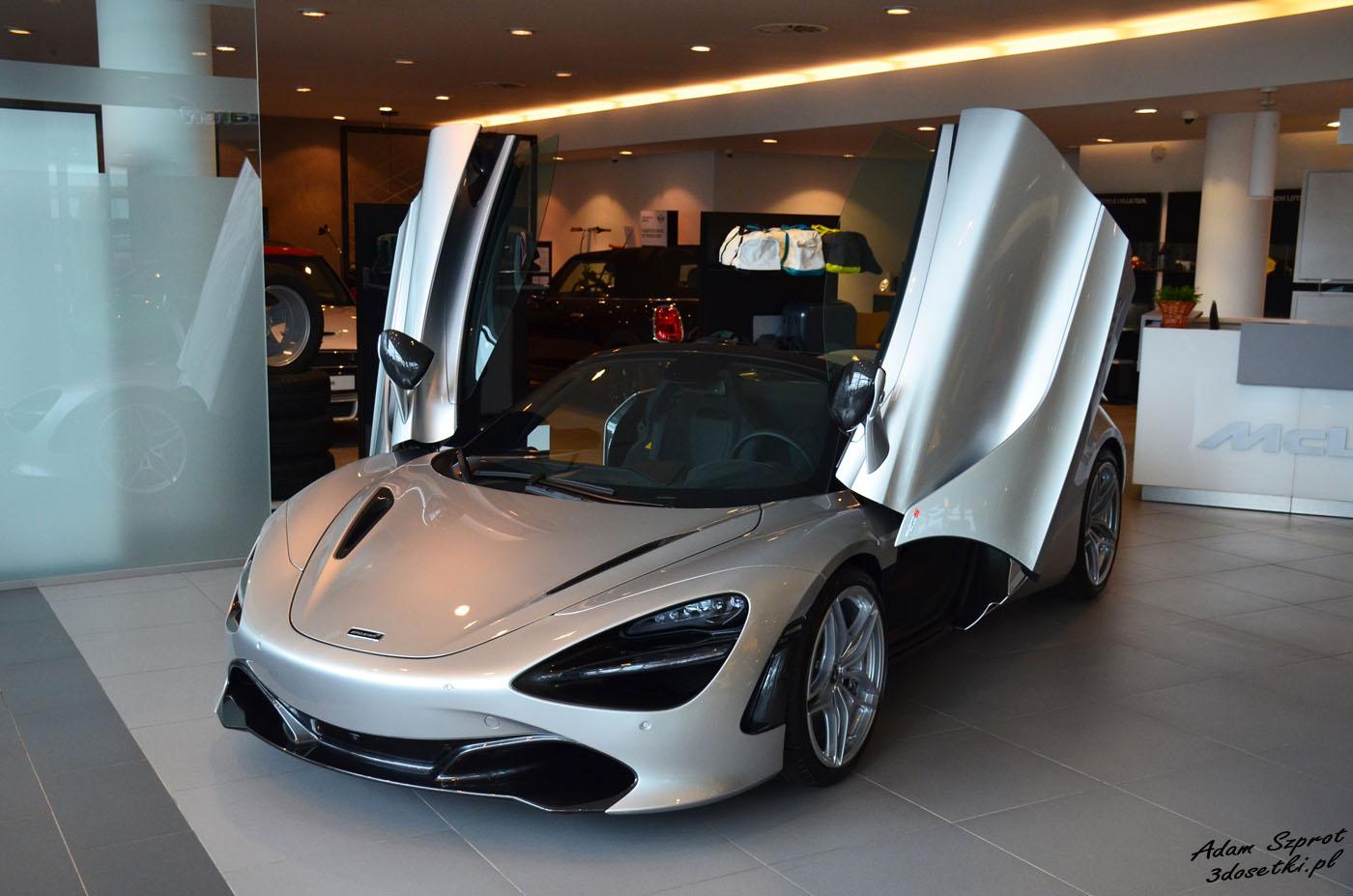 McLaren 720 S - McLaren Warszawa