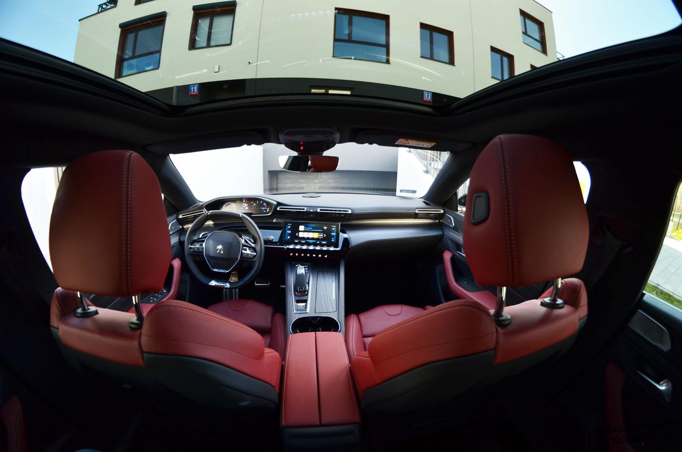 Wnętrze Peugeota 508