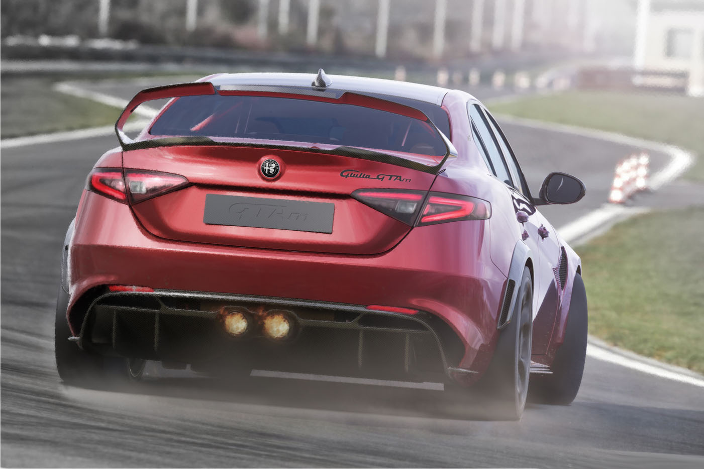 Alfy Romego Giulia GTA - premiera