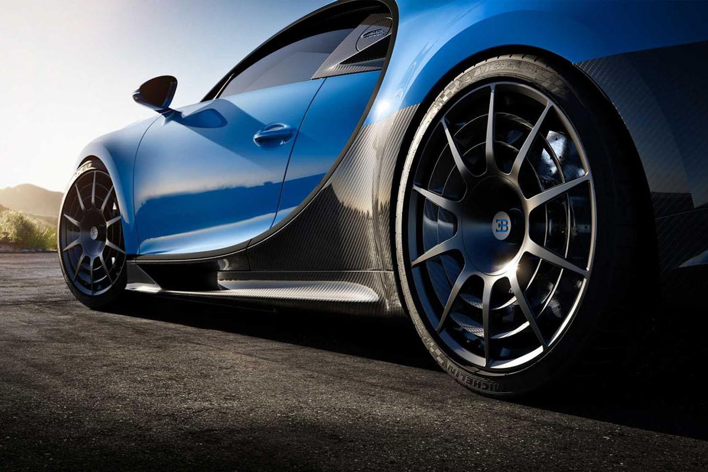 Premiera Bugatti Chiron Pur Sport