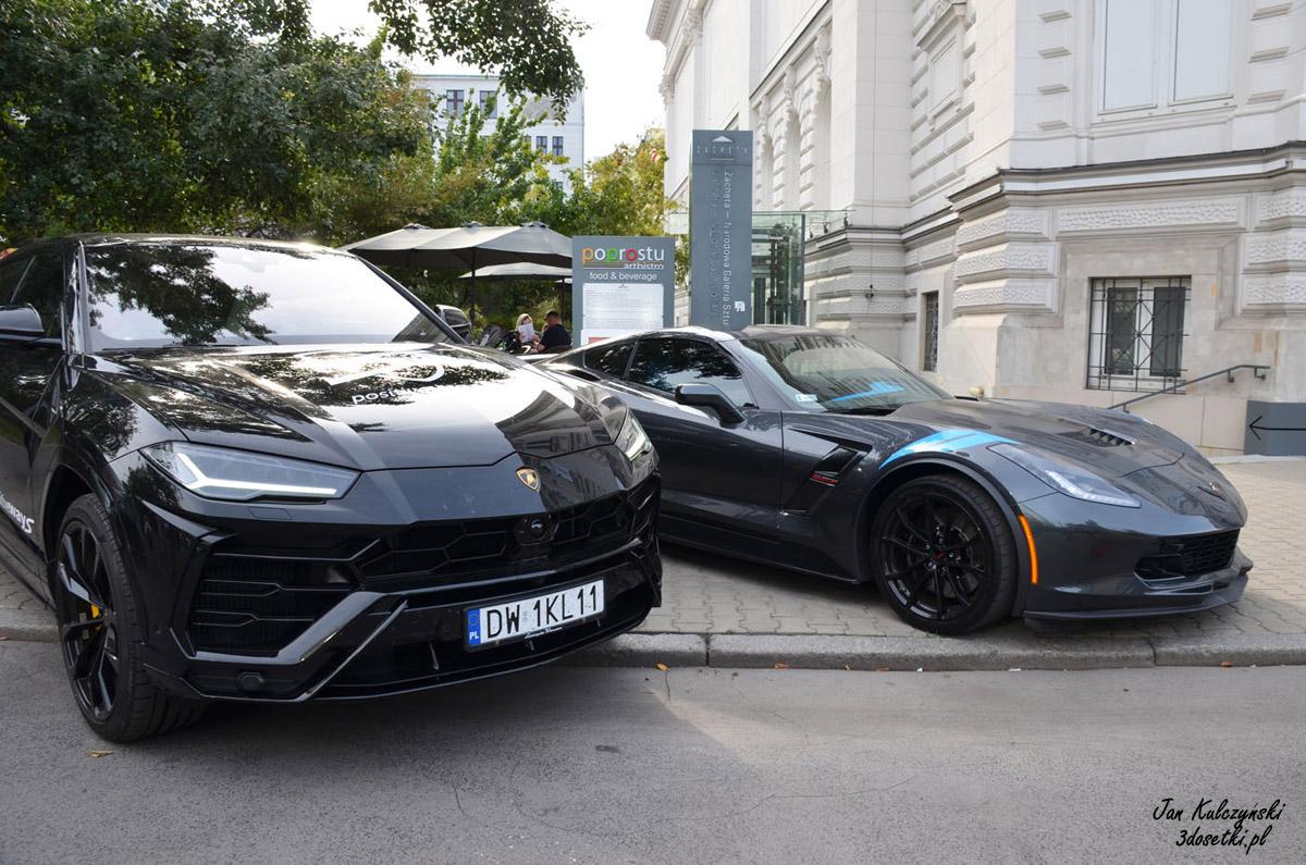 Lamborghini Urus i Corvette