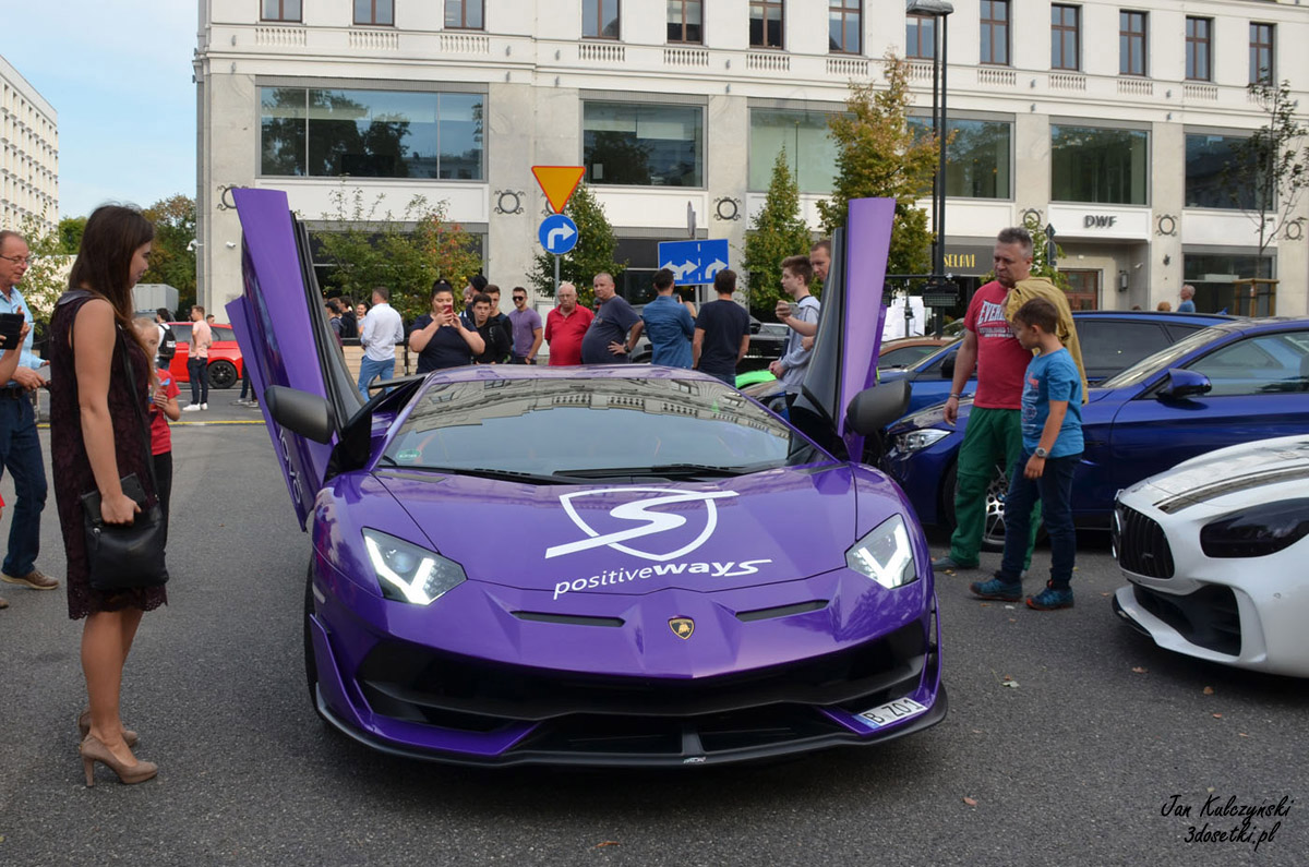 Lamborghini Aventador SVJ w Warszawie