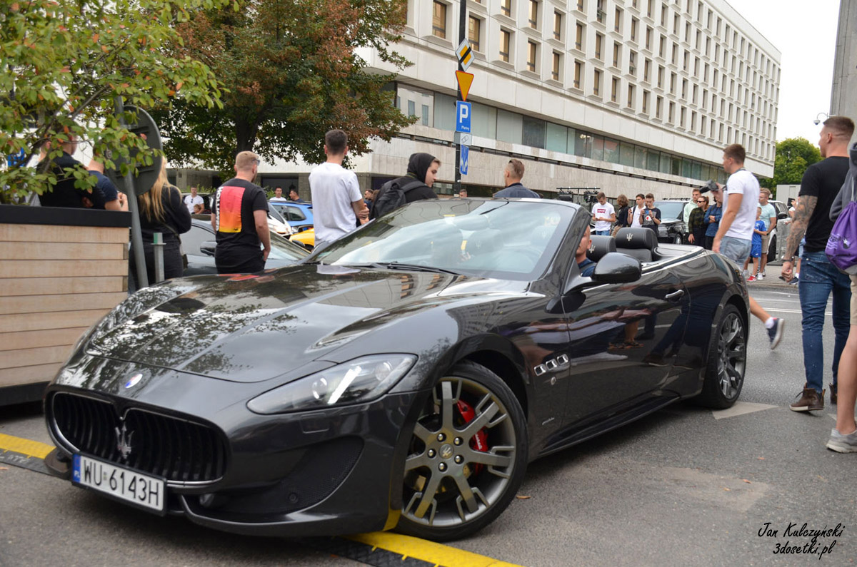 Maserati Grancabrio w Warszawie