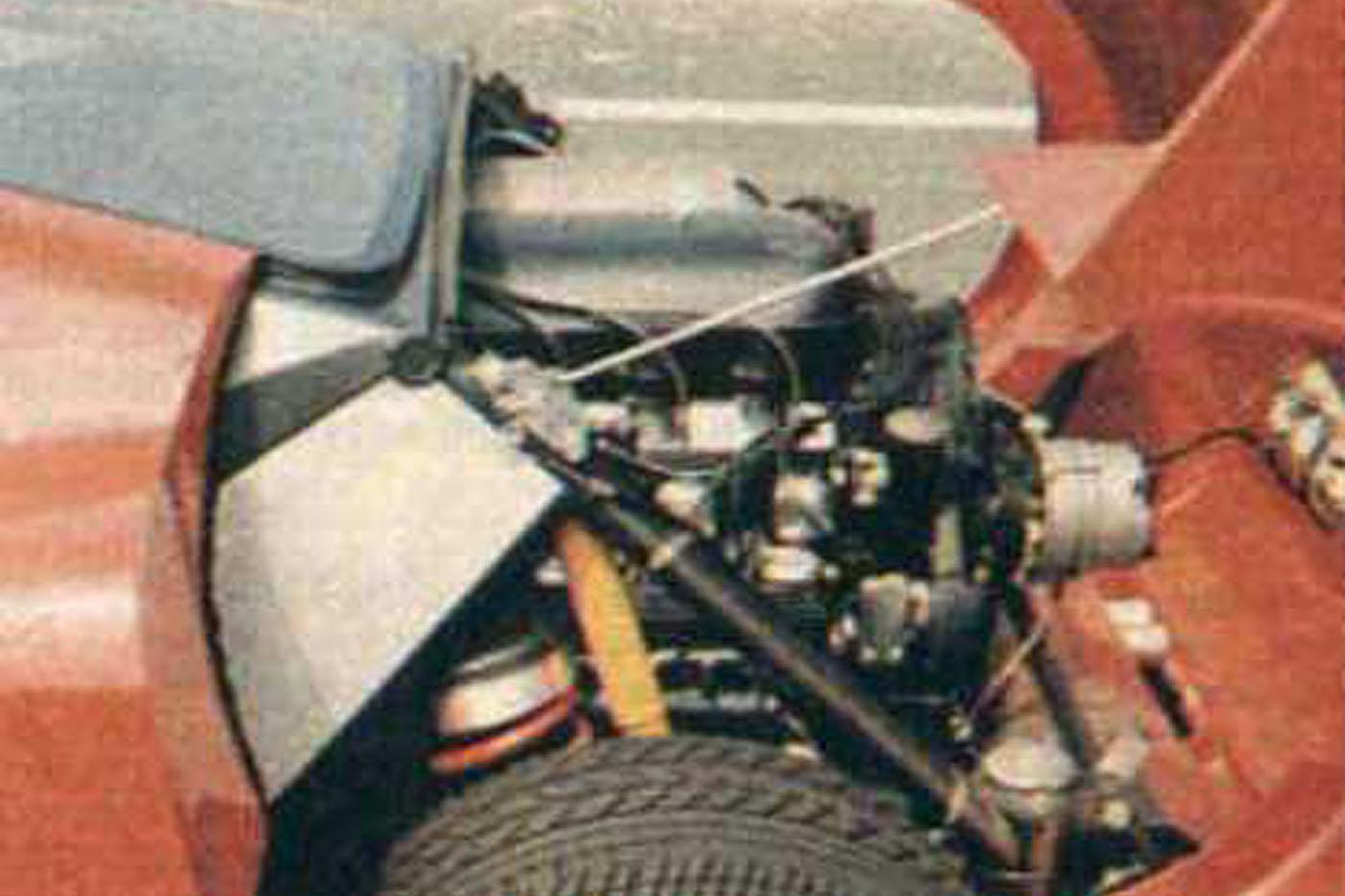 Tatra Mtx V8 Silnik