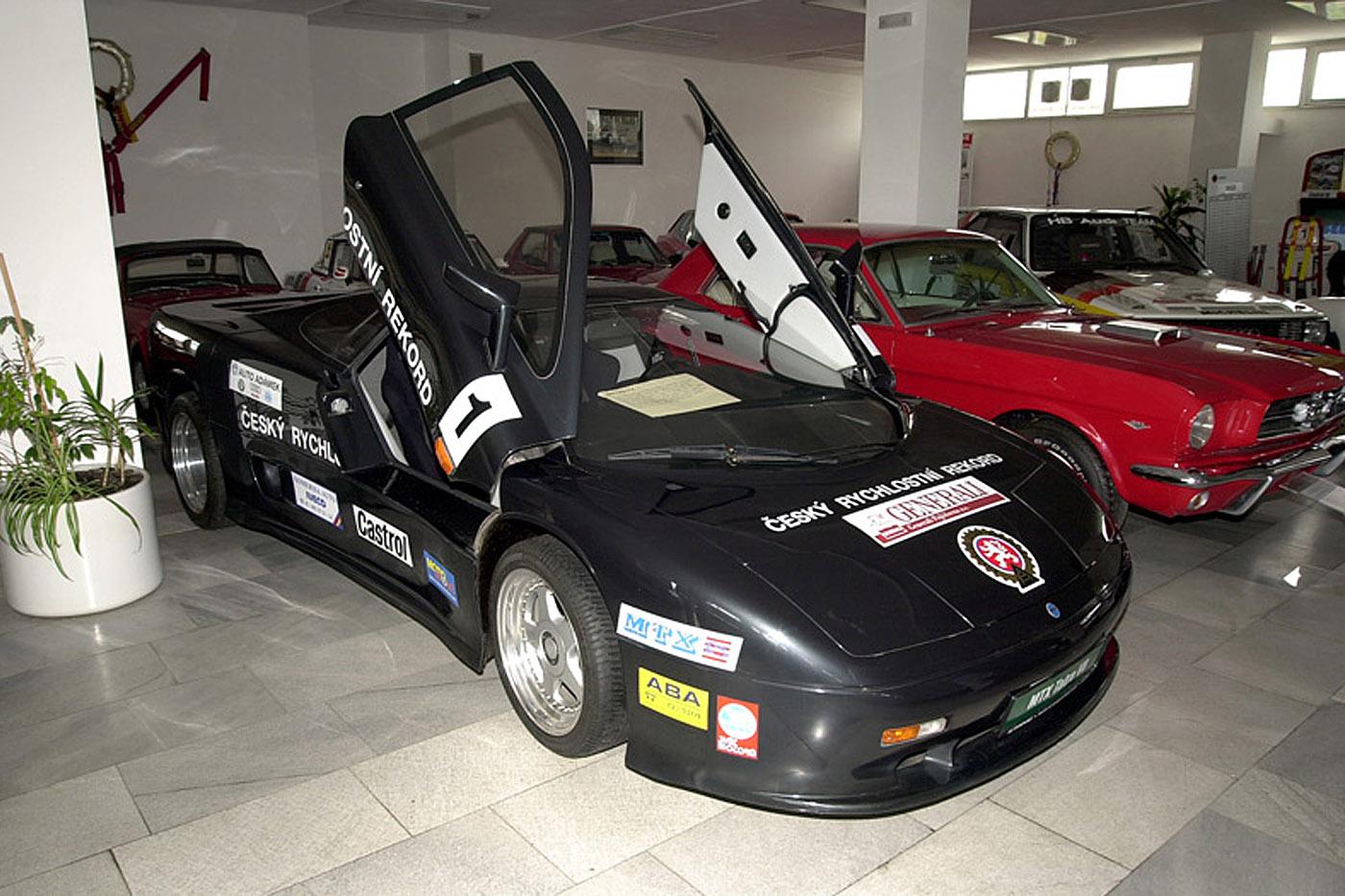Tatra Mtx v8 Sports Car Museum Lany