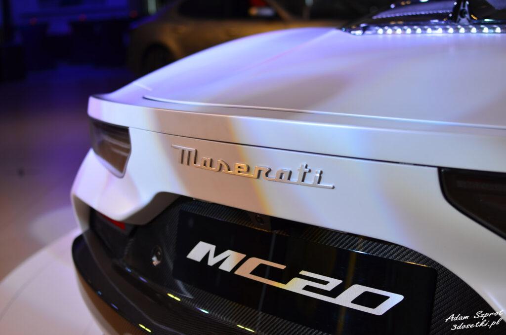 Maserati MC20 w La Squadra