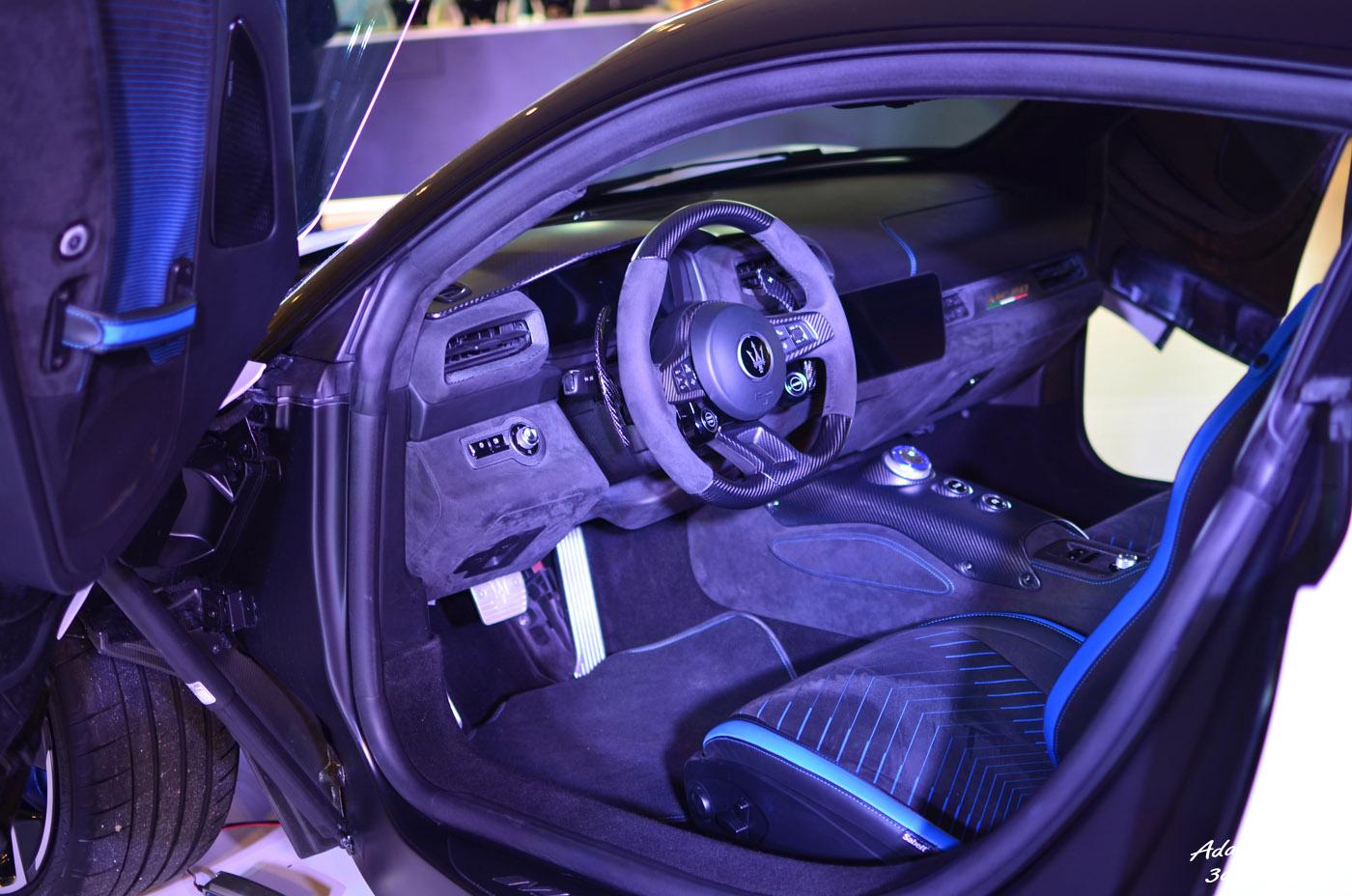 Wnętrze Maserati MC20