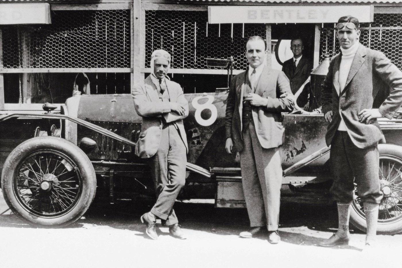 Historia Bentleya - Bentley 3- Litre na mecie LeMans