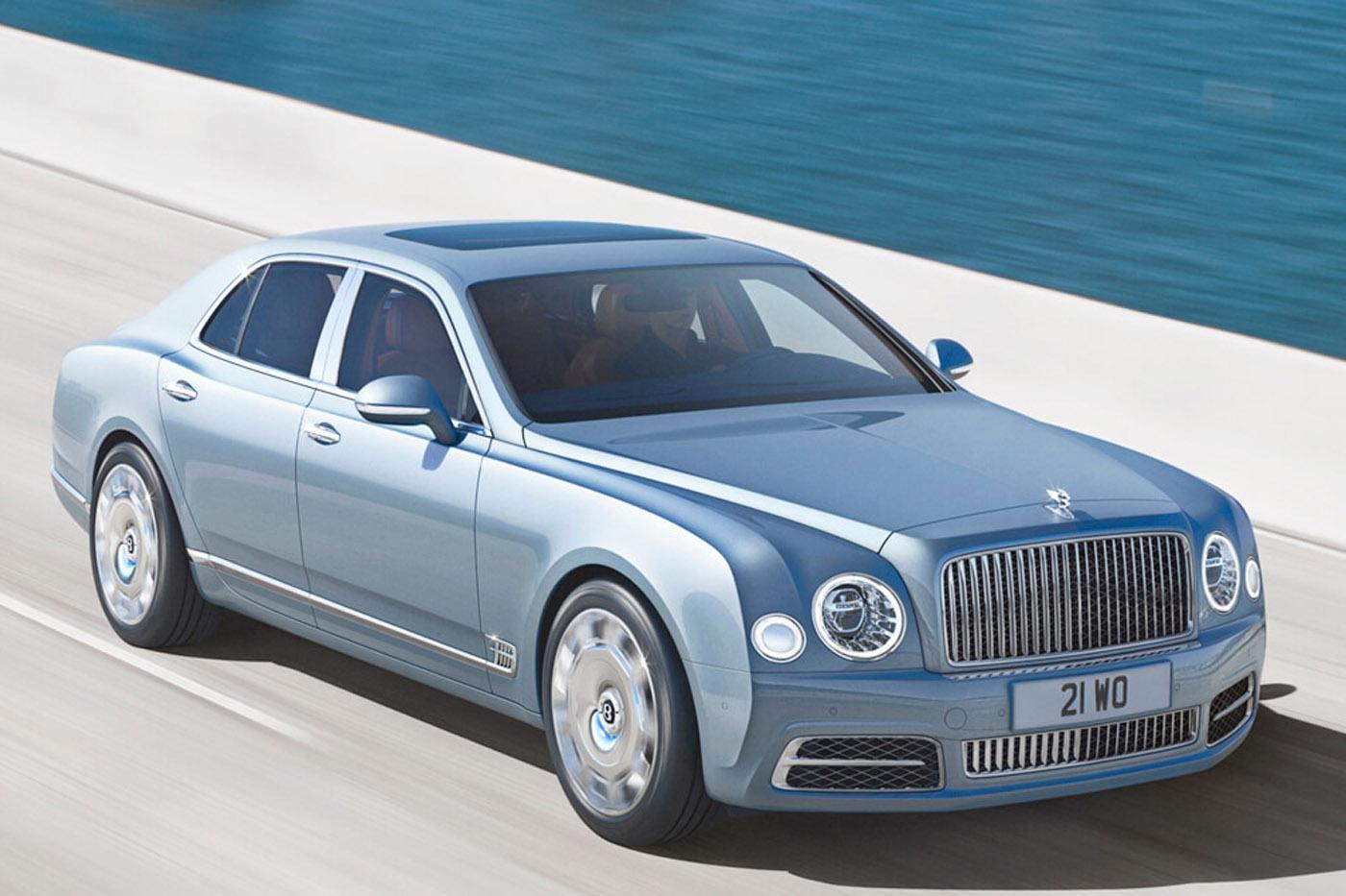 Historia Bentleya - Bentley Mulsanne