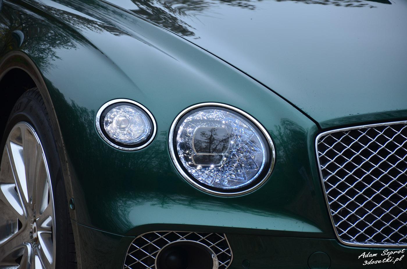 Bentley Continental GT W12 - światła