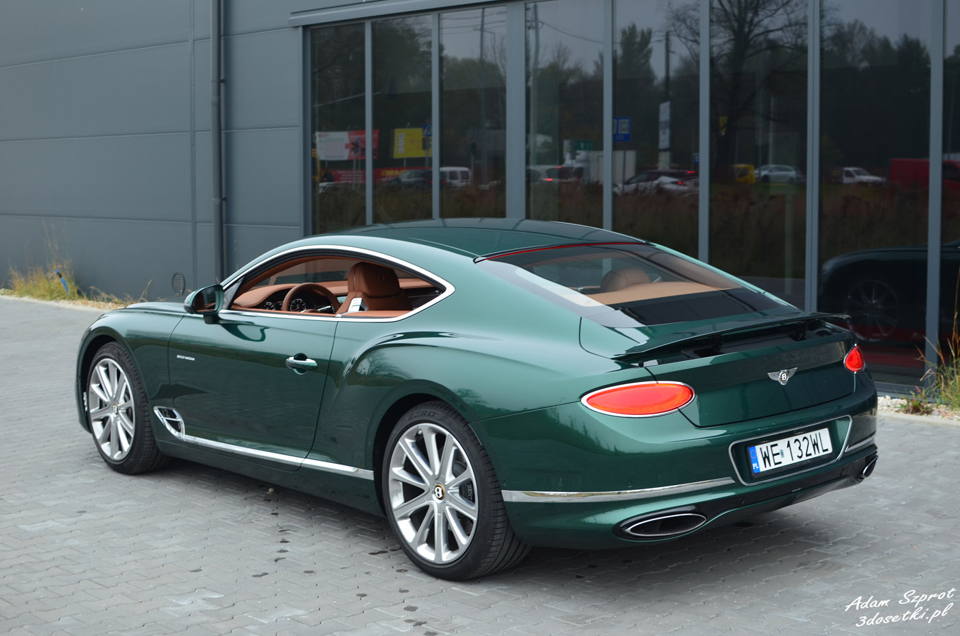 Bentley Continental GT W12 - test