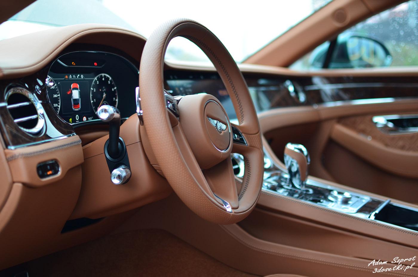 Bentley Continental GT W12 - wnetrze