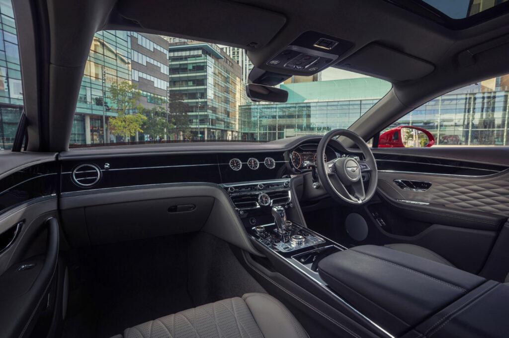Bentley Flying Spur Wnętrze