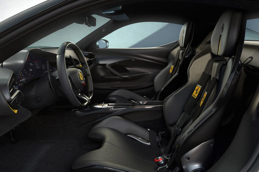 Wnętrze Ferrari 296 GTB Fiorano