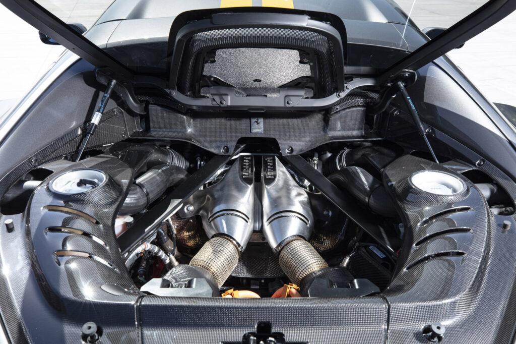 Ferrari 296 GTB Fiorano Silnik