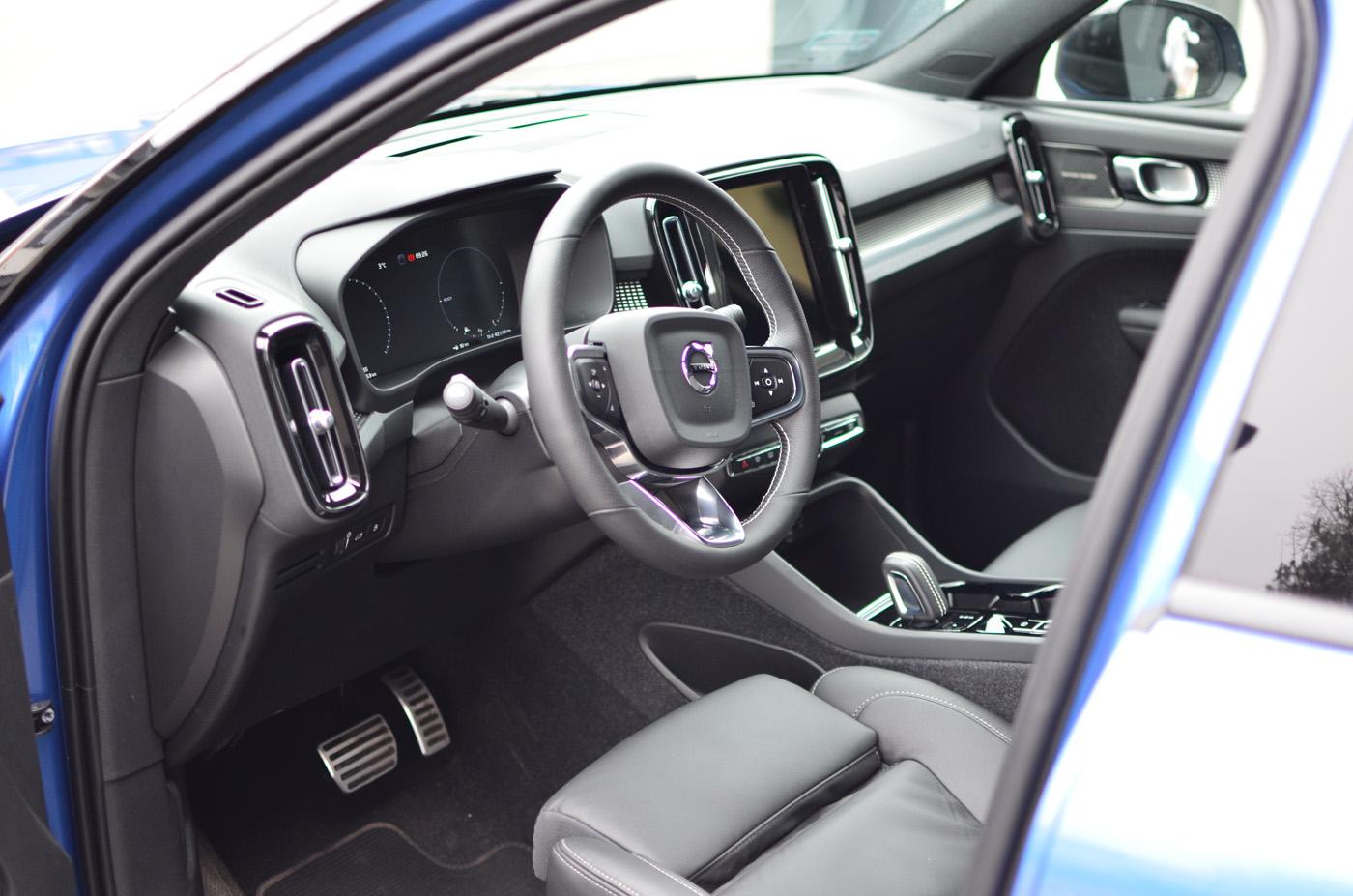 Volvo XC40 T5 Wnętrze