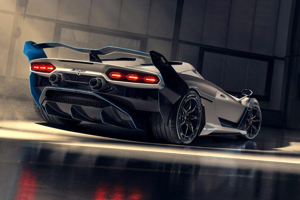 Lamborghini SC20 tył